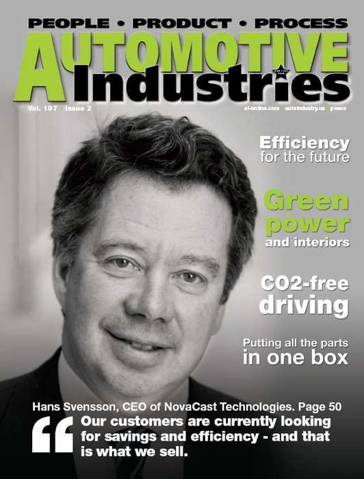 Automotive Industries speaks to Hans Svensson