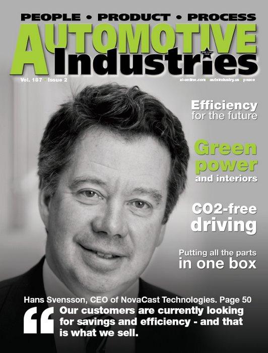 Automotive Industries speaks to Hans Svensson