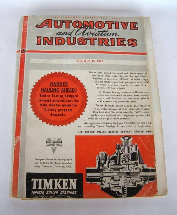 Automotive arsenal of democracy
