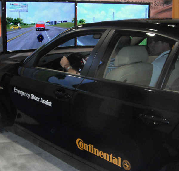 Mechanical Simulation Earns 2012 Continental Automotive Award