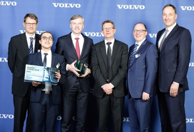 MAHLE honored with Volvo Supplier Award for Innovation and Fuel Efficiency