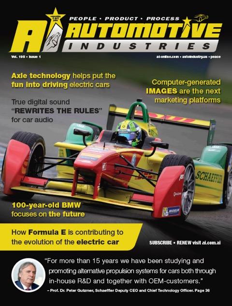 Formula E speeds up drivetrain innovation
