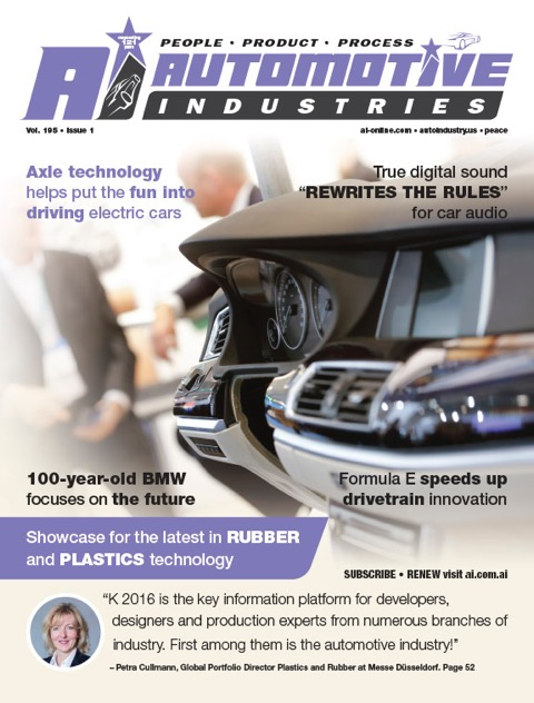Showcase for the latest in rubber and plastics technology
