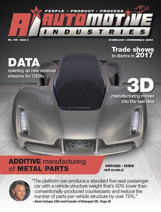 Development of 3D manufacturing accelerates