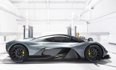 Michelin Chosen as Official Tyre Supplier for the Aston Martin Valkyrie Hypercar