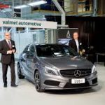 Valmet Automotive will manufacture also the next generation Mercedes-Benz compact cars