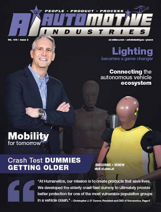 Dummies for a new generation of older drivers and passengers