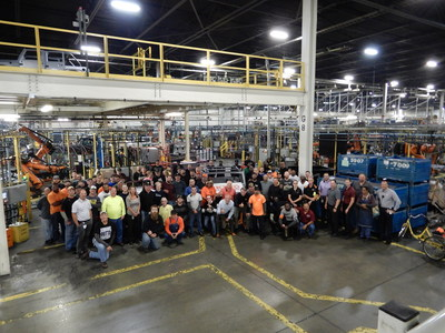 KUKA produces two millionth Jeep Wrangler body-in-white