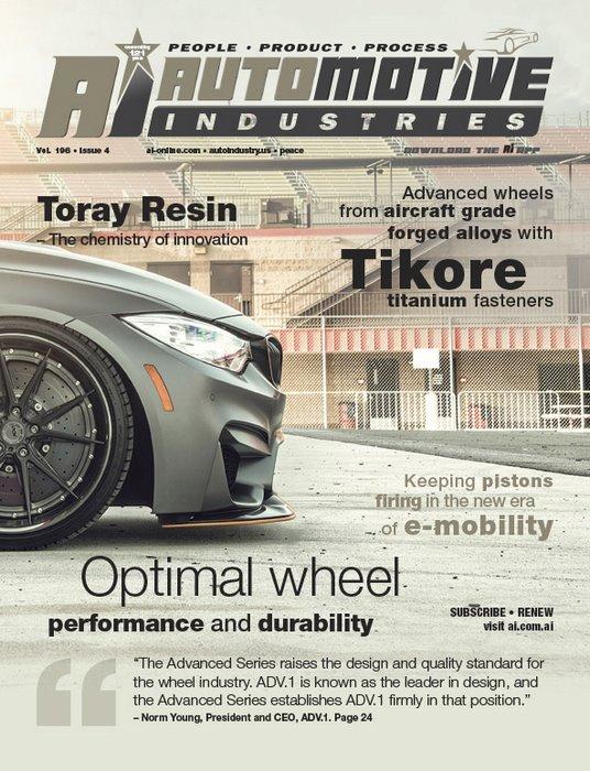 New range of bespoke hi-tech wheels