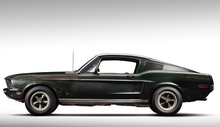 McQueen's 1968 Bullitt Movie Mustang Revealed At The North American International Auto Show