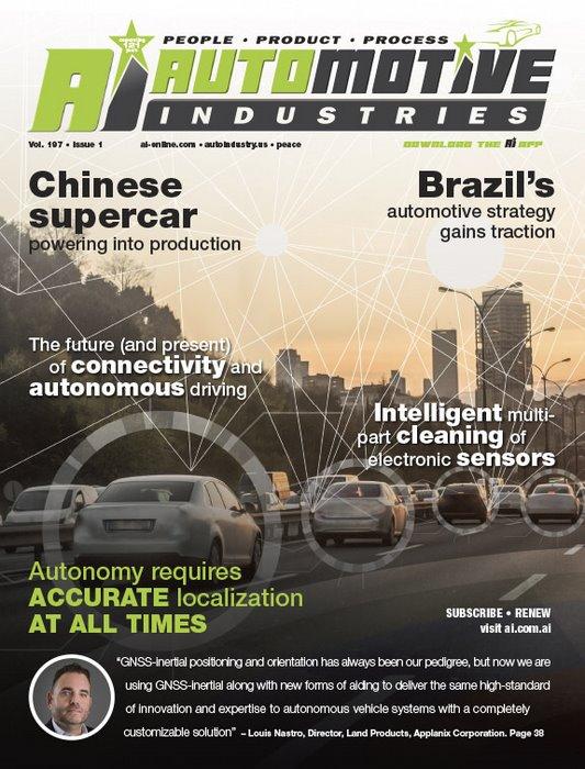 New development platform for autonomous vehicles