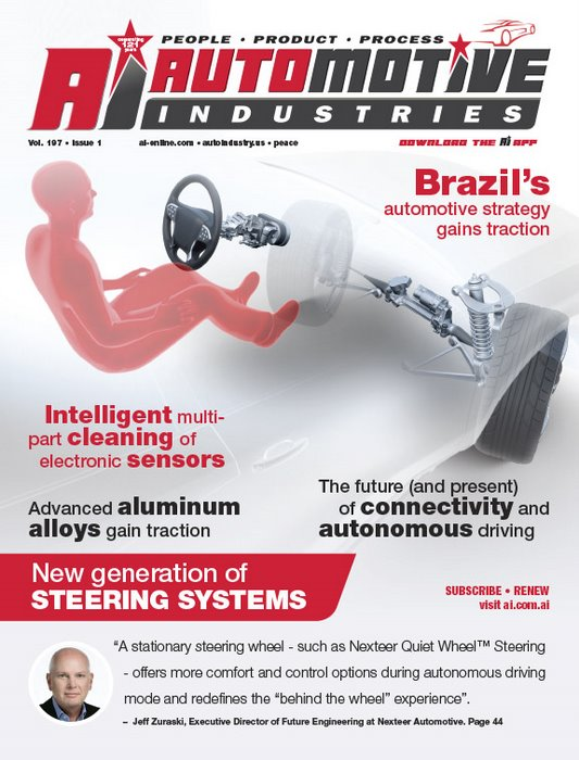 New generation of steering systems keep intelligent vehicles on the road