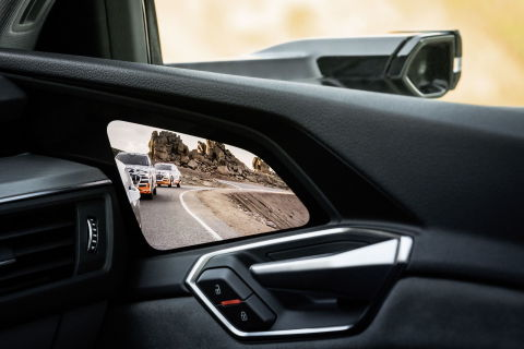 Samsung's 7-inch OLED Display Selected for the Audi e-tron ― Audi's First All-electric Vehicle