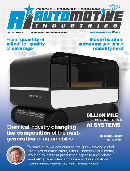 Chemical industry holds unlimited potential for nextgeneration of automobiles