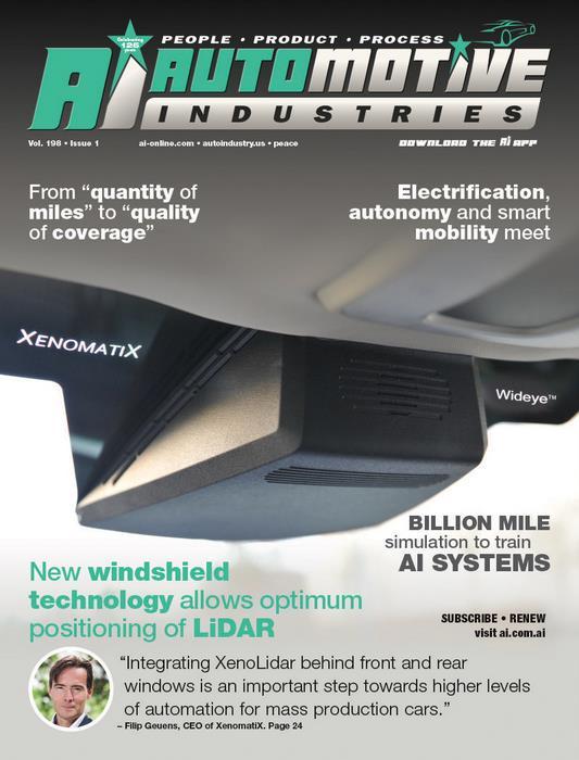 Windshield-mounted LiDAR opens door to ADAS rollout