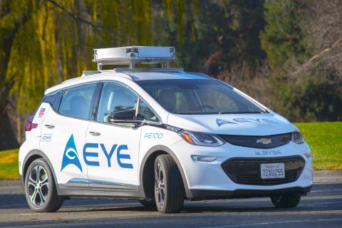 AEye Wins Award for Most Innovative Autonomous Driving Platform at AutoSens Brussels