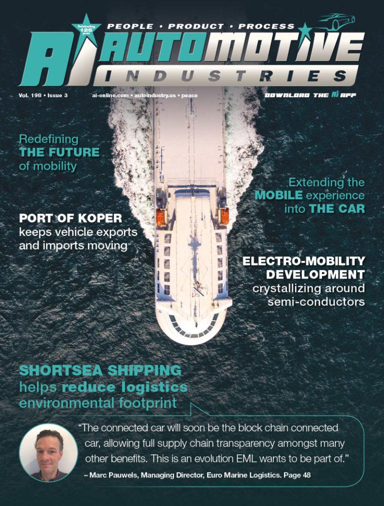 Shortsea shipping helps reduce logistics environmental footprint