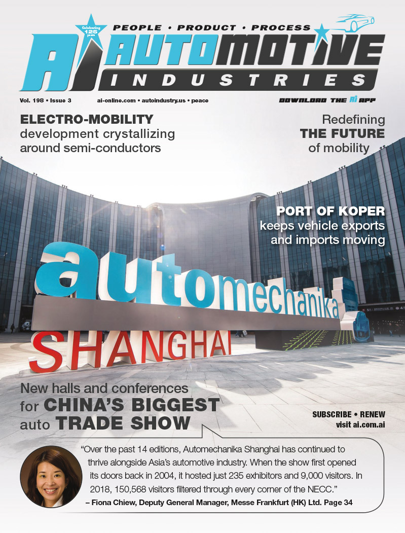 With record-breaking figures Automechanika Shanghai celebrates more than just its 15th edition miles