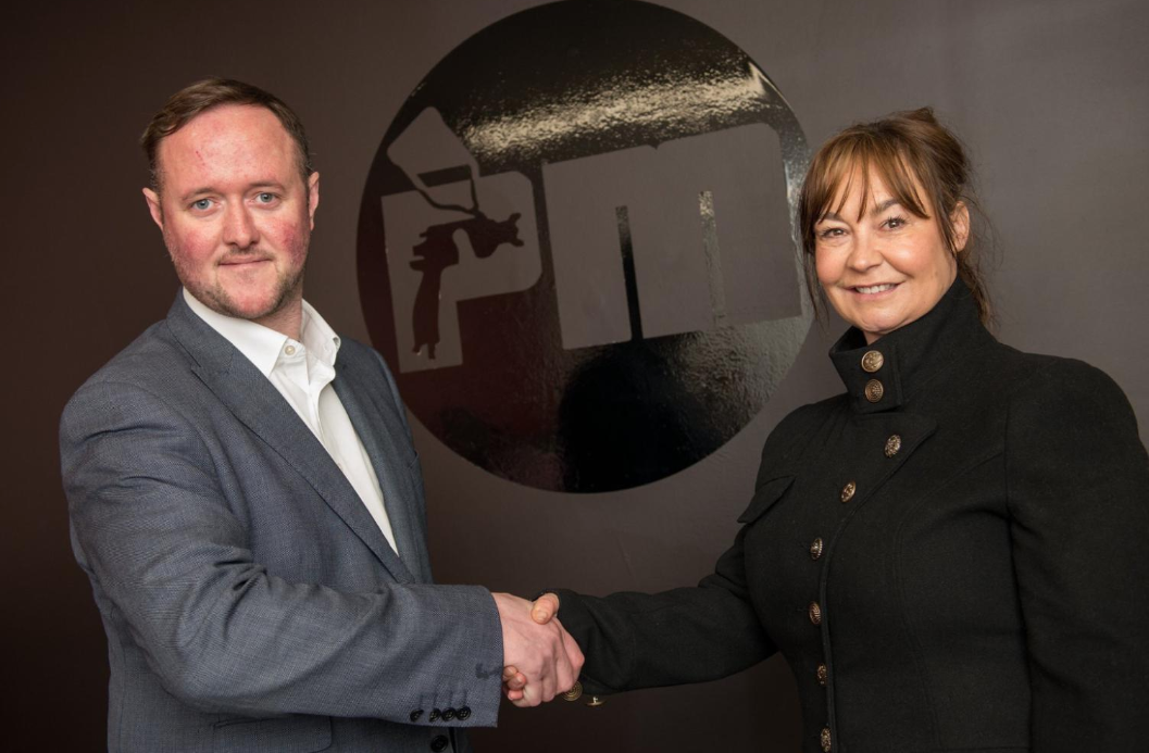 Two automotive entrepreneurs, Tom Sykes and Tracy Wickson, have joined forces to take their businesses to the next level in 2020.